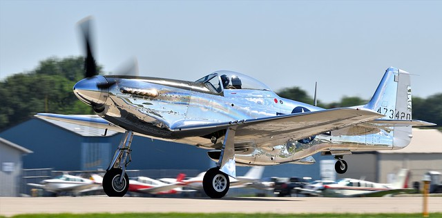 North American P-51D Mustang NL151AM 473420 USAAF 44-73420