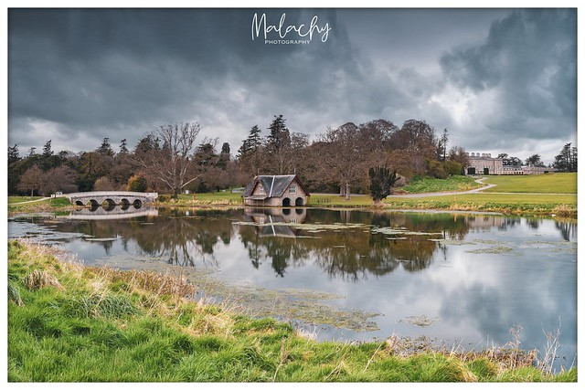 Carton House on a dull evening