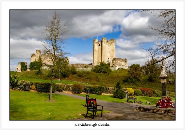Conisbrough Castle.