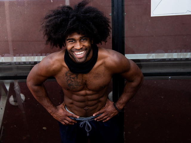 Super Cool College Dude Did Some Pull-ups To Photo