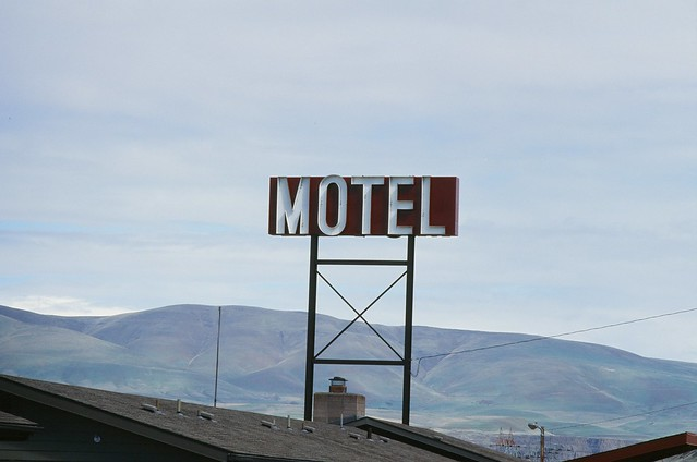 Motel. The Dalles, OR. 25 March 2021