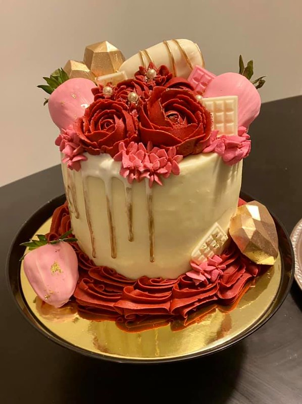 Cake by Miss Sweet's Cupcakery