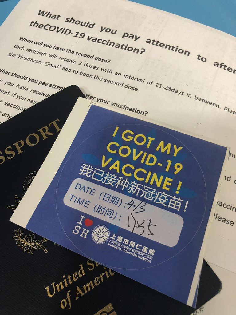 COVID vaccination in Shanghai
