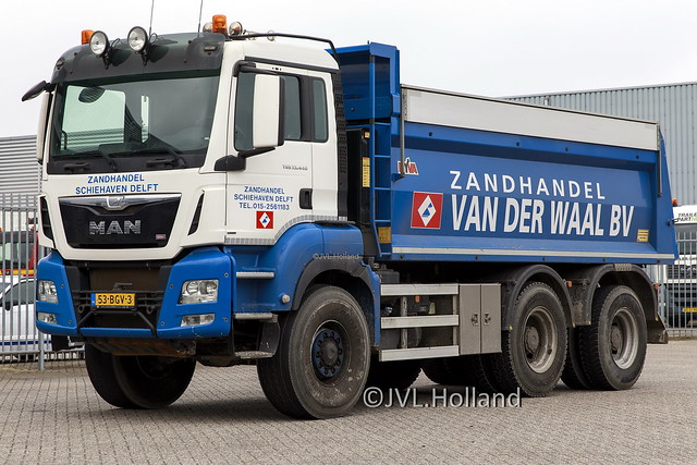 MAN TGS 33.440  NL  'Zandhandel Schiehaven Delft' 210323-242-C7 ©JVL.Holland