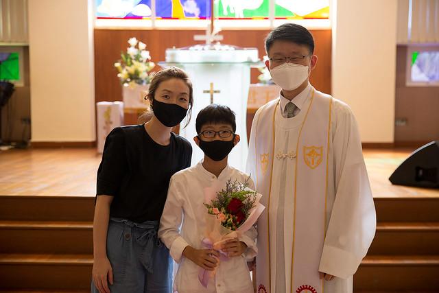 2021 부활절 세례
