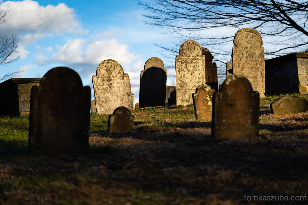 Old burial ground. Norwichtown Connecticut.