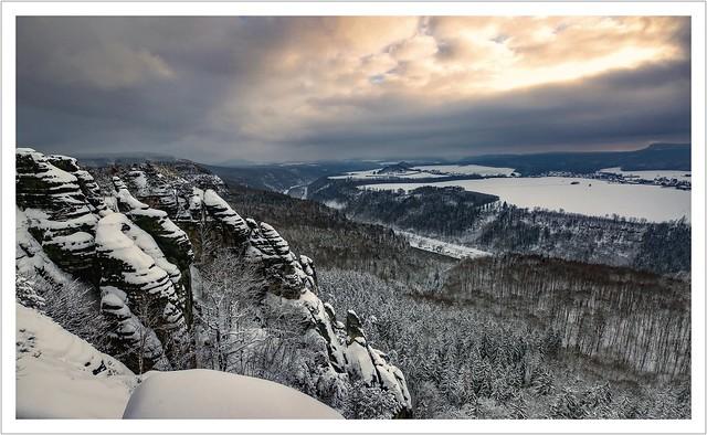Lichtblick am Winterhimmel