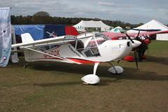 G-EFOX Aeropro Eurofox [BMAA HB 604] Popham 050512