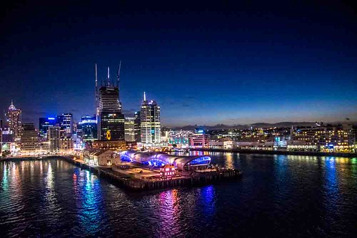 nikon5300 aukland city cityscape cruise newzealand night ociania polynesia ship sunset tourist worldcruise