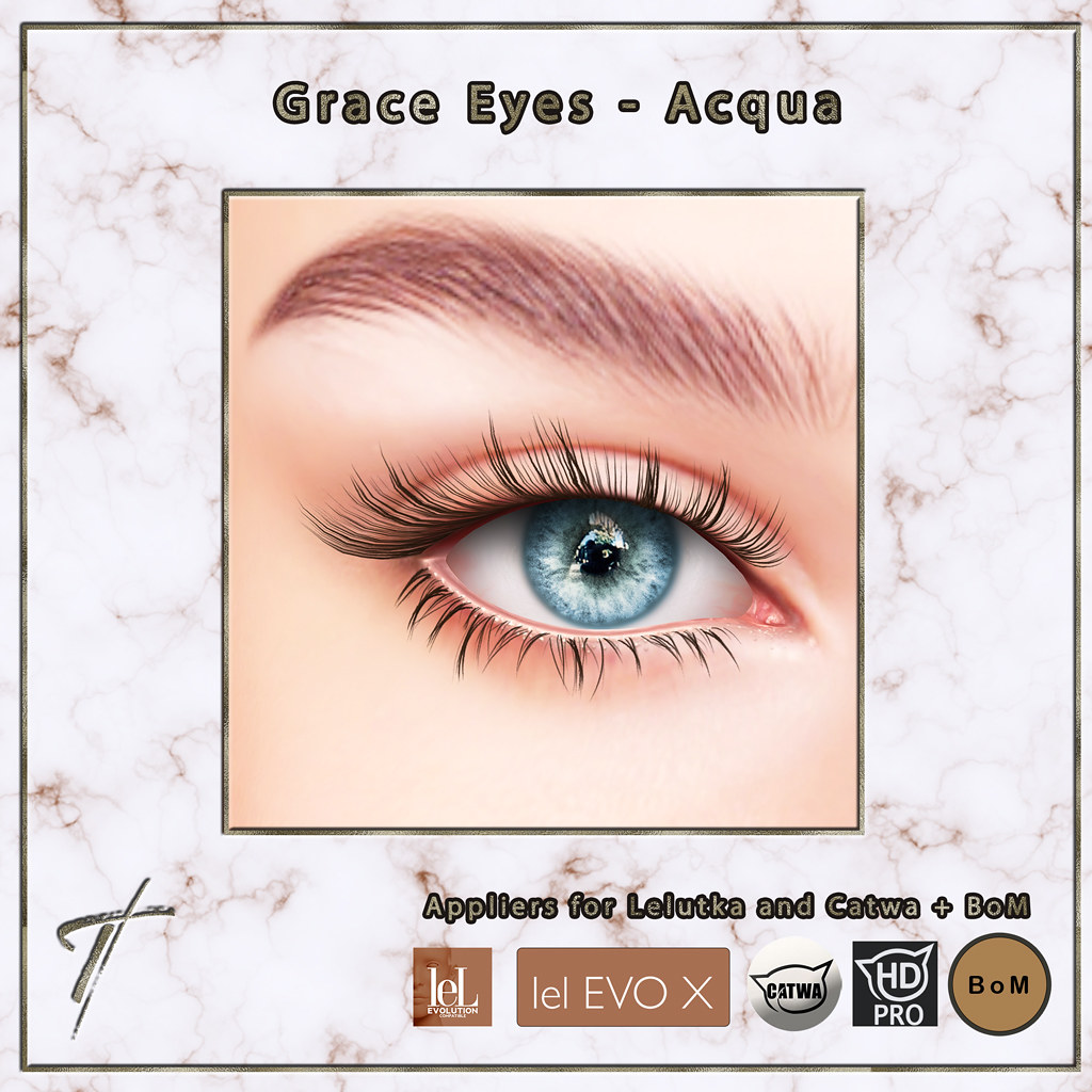 Tville - Grace eyes v2 *acqua*