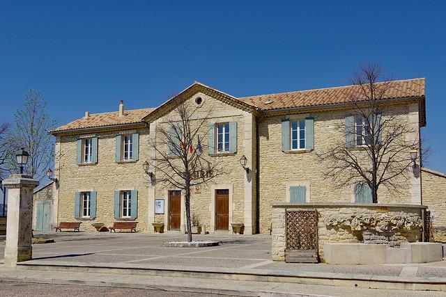 Crillon-le-Brave (Vaucluse) : la mairie