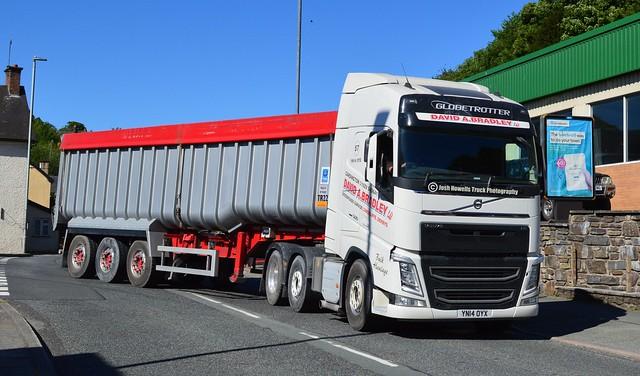 D A Bradley YN14 OYX At Llanfair Caereinion (Ex East Trans)