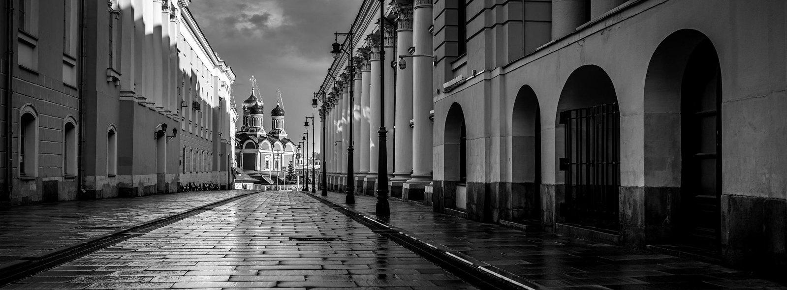Рыбный переулок и Знаменский монастырь