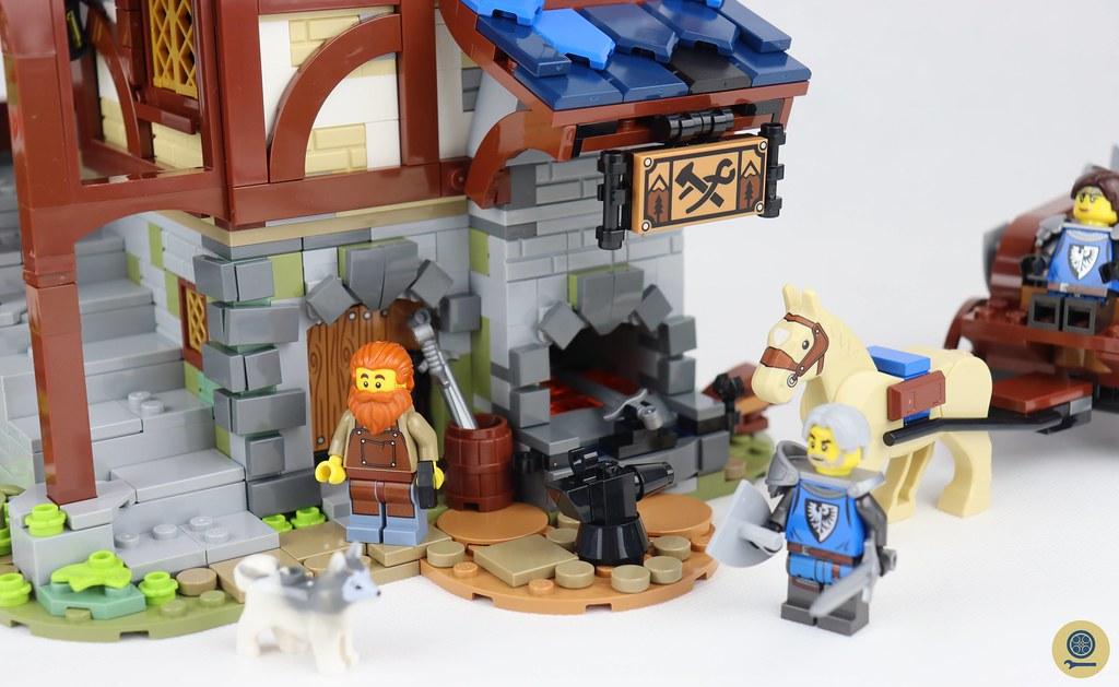 21325 Medieval Blacksmith 12