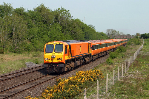 sallins treinen spoorwegen trains züge trenes treni tren europe europa ierland irland eire iarnródéireann railroad tåg cokildare countykildare
