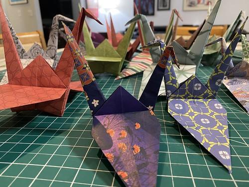February 23, 2021 - 10:24pm - Peace cranes