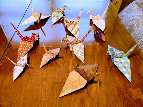 April 7, 2021 - 4:15pm - Peace cranes