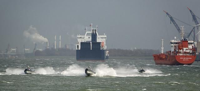 Oefening Port Defender Rotterdam
