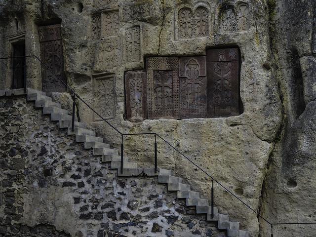 Geghard Monastery, Armenia: Khachars