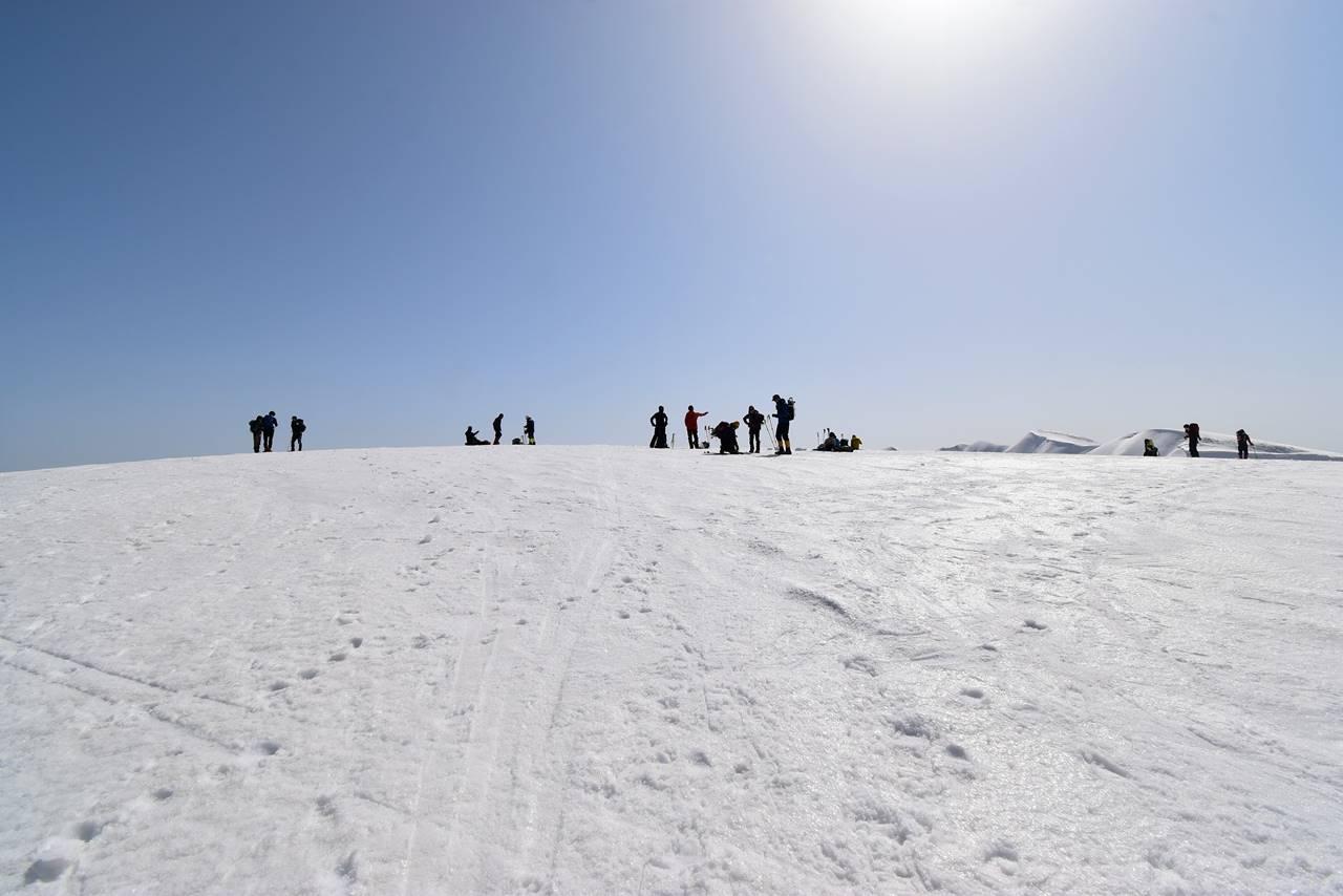 【新潟】冬の守門岳・大岳山頂