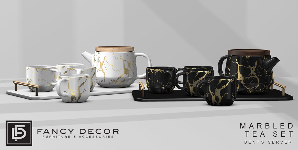 Marbled Tea Set @ C88