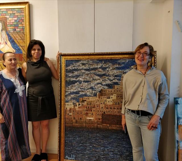 אמנית עכשווית איילת בוקר היוצרות האמניות הציירות הישראליות העכשוויות המודרניות