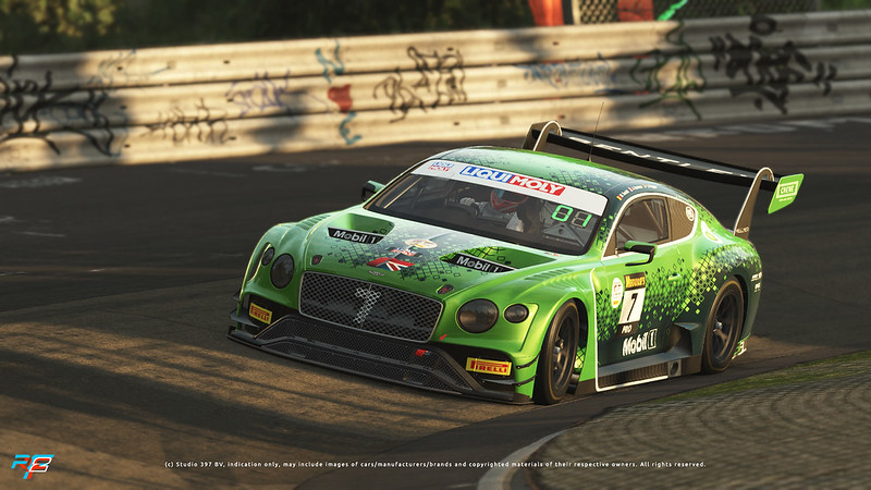 rFactor 2 Bentley GT3