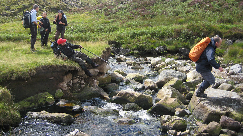 Day 1: Crossing the Rattlebrook