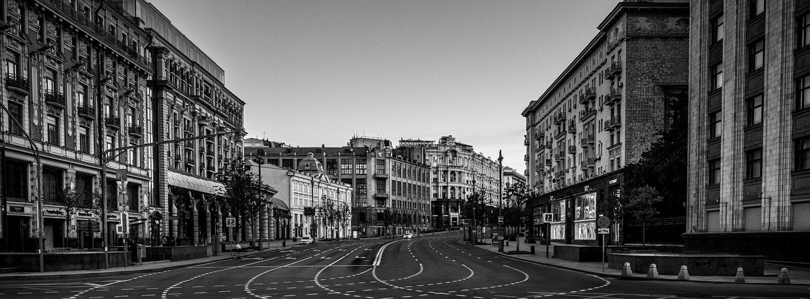 Пересечение Тверской улицы и Охотного ряда