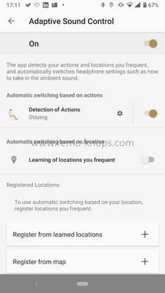 Sony Headphones Connect App 171130