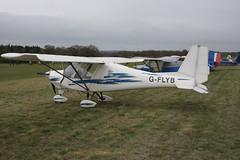 G-FLYB Comco-Ikarus C-42 [0309-6572] Popham 050512