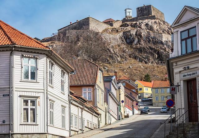 Fredriksten Fortress and parts of Halden