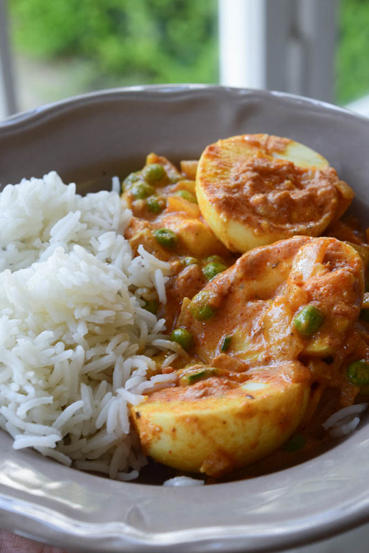 Curry aux œufs durs (Traditional Dhaba style egg curry) 2