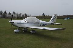 G-CEDV Evektor EV-97 [2006-2826] Popham 050512