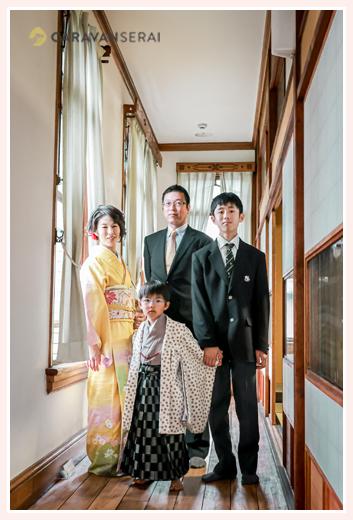 家族写真 華麗なる一族風w