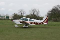 G-BXTT American Aviation AA-5B [0749] Popham 050512