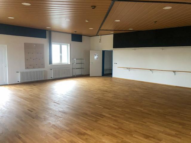 TVK nutzt Corona Pausen für die Renovierung und Instandsetzung des Gymnastikraumes