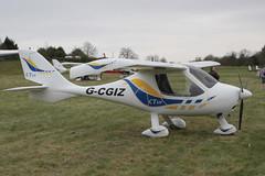 G-CGIZ Flight Designs CTSW [09-12-08] Popham 050512