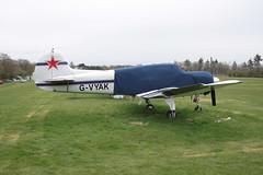 G-VYAK YakovlevYak-18T [01-32] Popham 050512