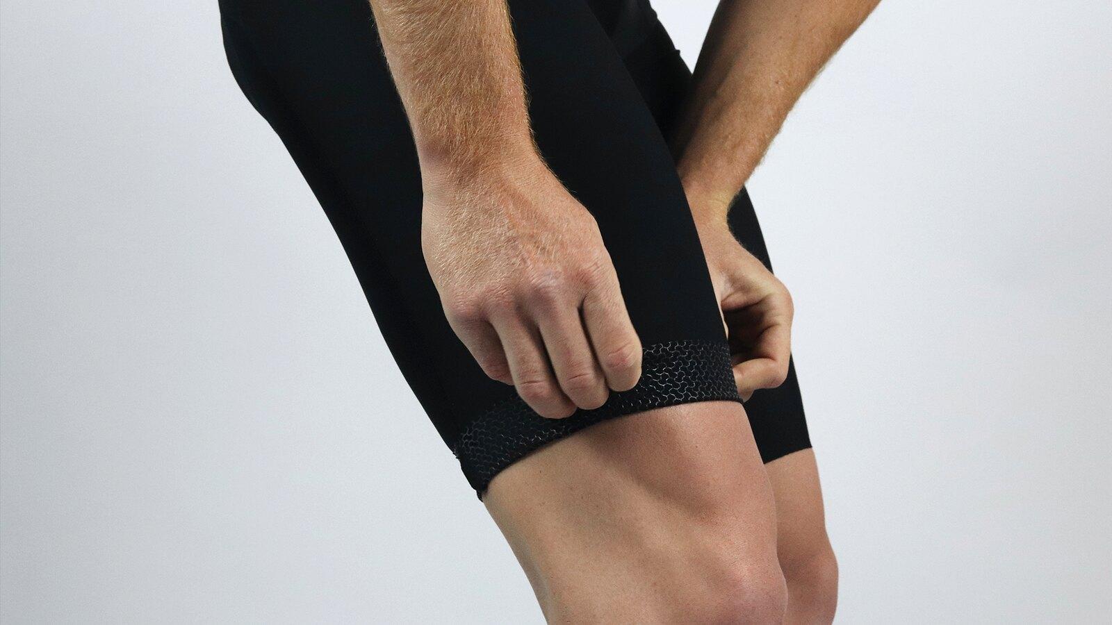Men's Pro Skin Black Bib Short