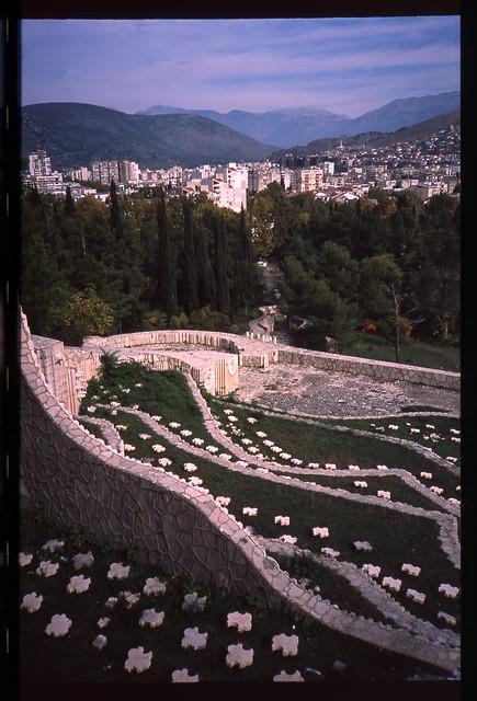 Partisan cemetery, Mostar