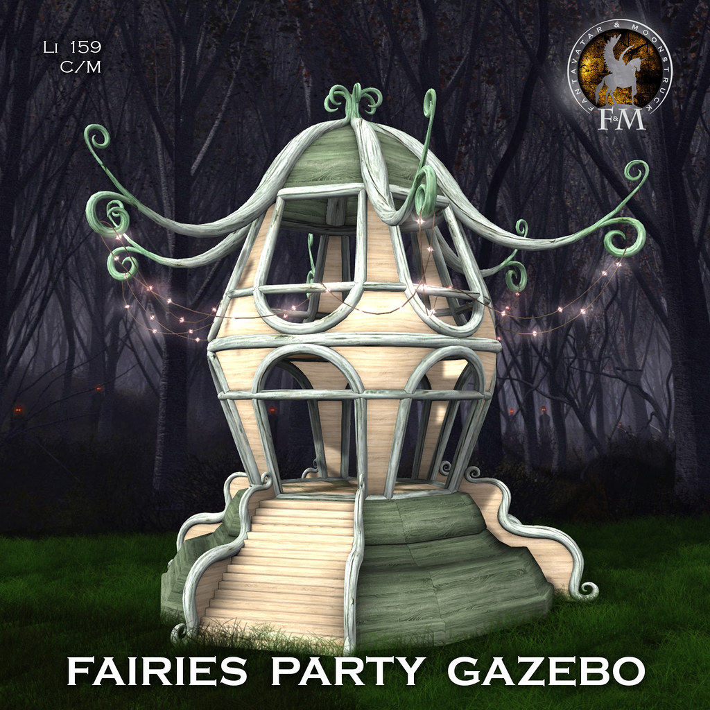 F&M * Fairies Party Gazebo