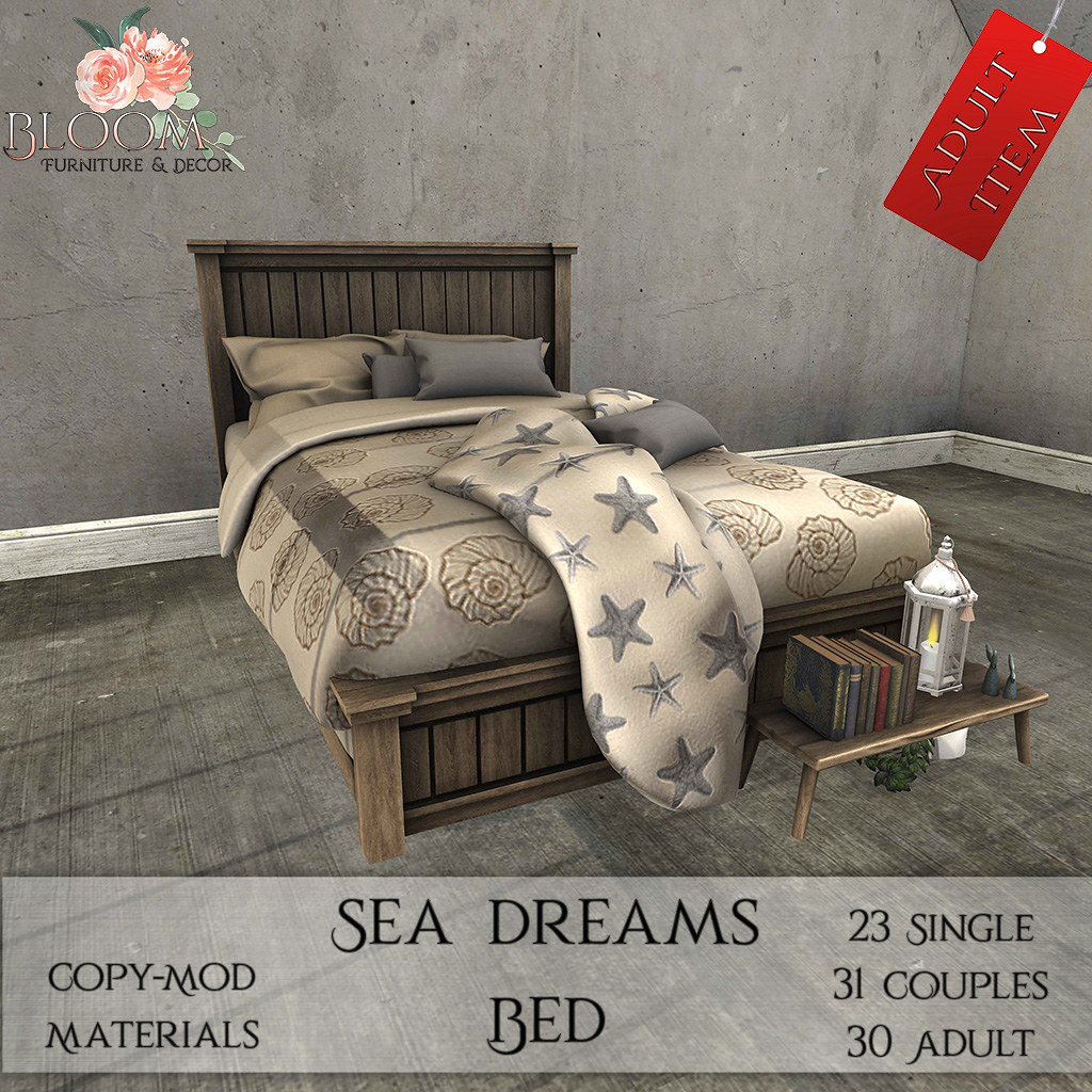 Bloom! – Sea dreams Bed (A)AD