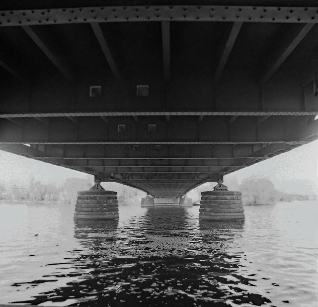 Berlin Glienicker Brücke 3.4.2021