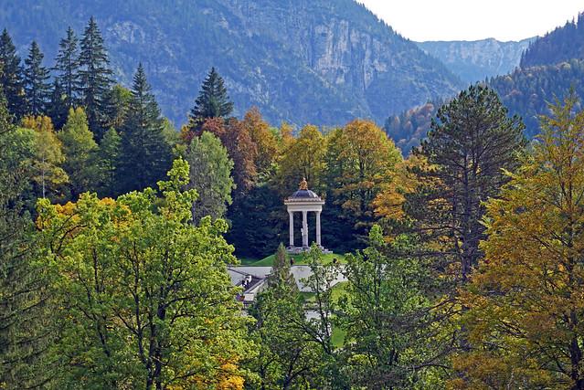 Temple of Venus - Linderhof Palace and Gardens, Bavaria