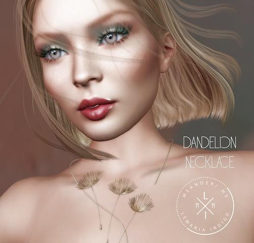 Dandelion Necklace - GIFT @ 4 Seasons Event
