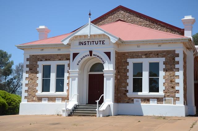 DSC_2398 Soldiers Memorial Institute, Barr Street, Redhill, South Australia