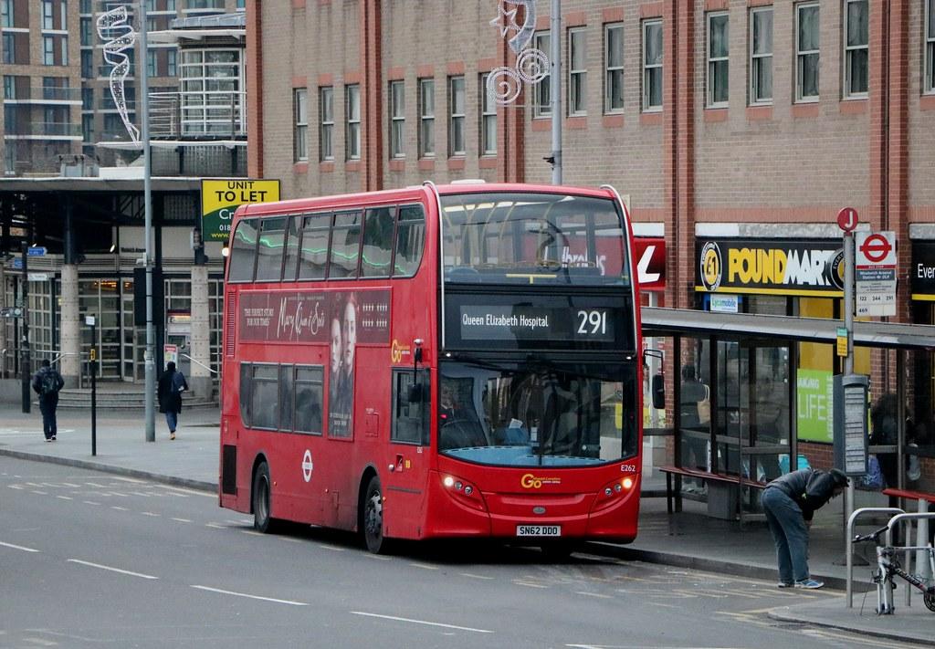 Go Ahead London Central - E262 - SN62DDO
