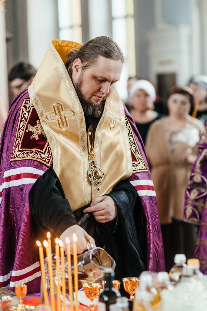 8 апреля 2021, Таинство соборования / 8 April 2021,Sacrament of Unction