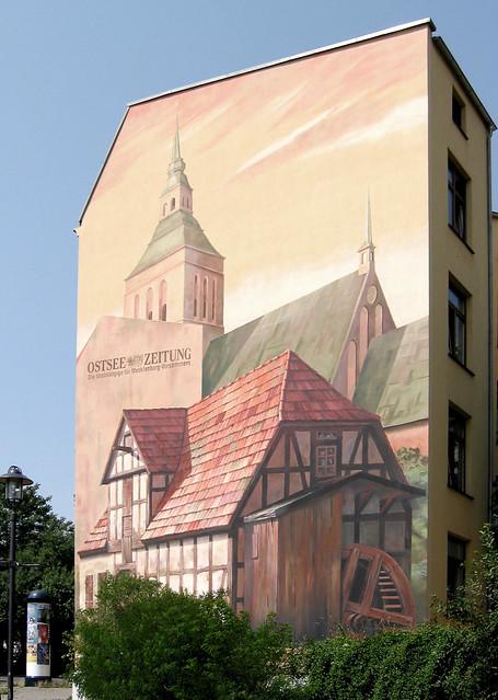 Rostock - Wandbild Am Bagehl